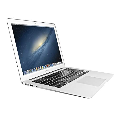 Apple MacBook Air MD760LL/B 13.3in Laptop, Intel Core i7-4650U 1.7GHz, 8GB RAM, 256GB SSD - Silver (Renewed)