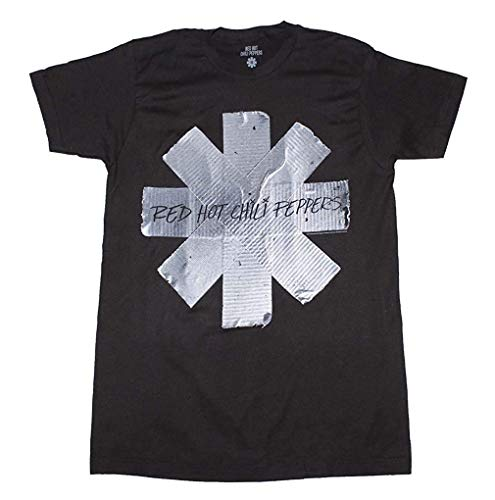 Authentic RED HOT CHILI PEPPERS Classic Asterisk Slim Fit T-Shirt S-2XL NEW