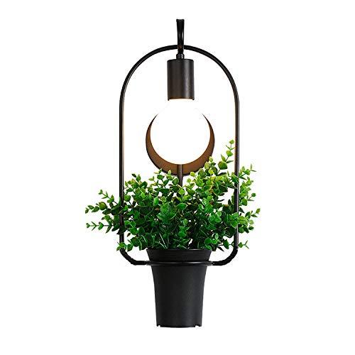 Industriële wandlamp hanglampen moderne installatie, eenvoudige wandlamp, ijzeren wand, slaapkamer nachtwandlamp
