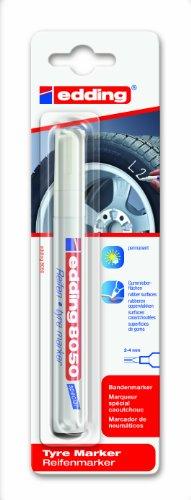 edding e-8050-1-4049 - Marcador para neumáticos, color blan