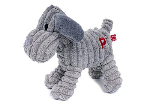 Kleines Tiergesicht Freddi Cord Spielzeug - Quietsche Welpe / Hund Spielzeug