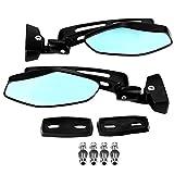 Specchietto retrovisore 2 pezzi specchietti retrovisori moto modificati per CBR GSXR Kawasaki Ninja FZR