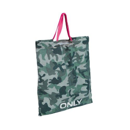 Only Canvas Shoppingbag / Strandtasche / Einkaufstasche, Farbe:army