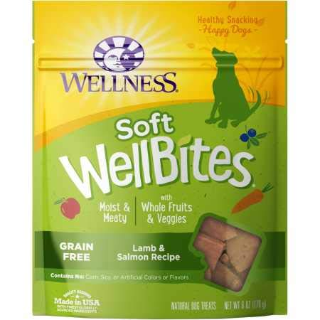 Wellness Wellbites Soft Natural Dog Treats, Lamb &...