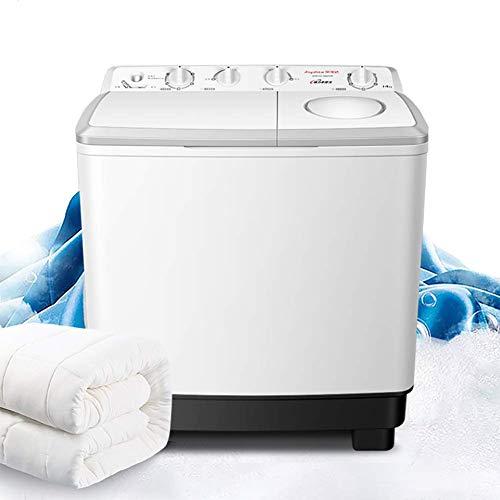 XIAOFEI 14kg Lavatrice Doppia Lavabiancheria Semiautomatica, Semi-Automatica Alta qualità, Lavatrice Doppia Lavabiancheria