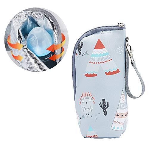 Cartoon-Milchflaschen-Isolierungstasche, tragbar, zum Aufhängen, für Muttermilch, Wasser, Babyflasche, Reise-Isoliertasche