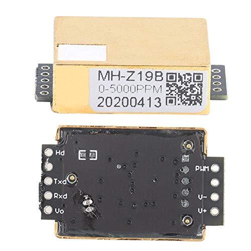 Sensor de gas de dióxido de carbono electrónico MH-Z19 Sensor de gas de dióxido de carbono CO2 Salida en serie NDIR para monitor de CO2