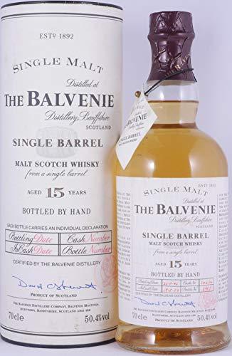 Balvenie 1979 15 Years Cask 14674 Single Barrel Highland Single Malt Scotch Whisky 50,4% Vol. - eine von 300 Flaschen!