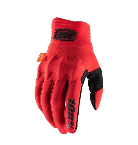 Gants Cognito pour Homme, Rouge/Noir, Taille XL