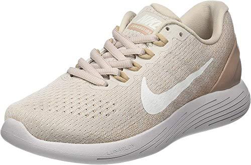 Nike Women's WMNS Lunarglide 9 Running Shoes, Beige (Desert Sand/Sand/Vast Grey/Sail 005), 3 (36 EU)