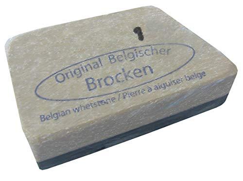 REMOS Gelber Belgischer Brocken Schleifstein - Nr. 1 Größe 12-18 cm²
