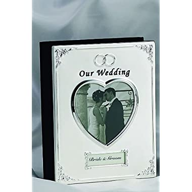 SILVER PLATED WEDDING ALBUM - Photo Album