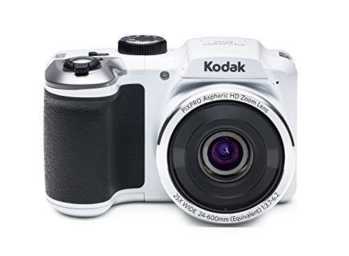Kodak PIXPRO AZ251 Cámara Puente 16 MP 1/2.3' CCD 4608 x 3456 Pixeles Blanco - Cámara Digital (16 MP, 4608 x 3456 Pixeles, CCD, 25x, HD, Blanco)