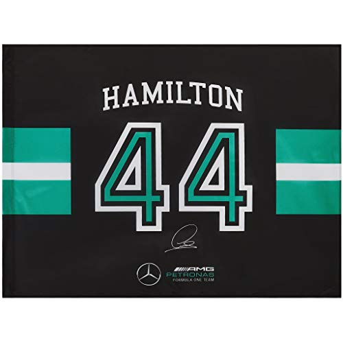 Mercedes-AMG Petronas - Offizielle Formel 1 Merchandise 2021 Kollektion - Damen und Herren - Lewis Flag 90x120 Without Pole - Flag - Multicolor - One Size