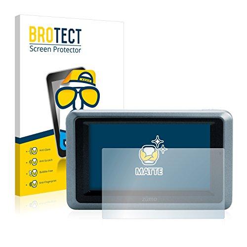 BROTECT 2X Entspiegelungs-Schutzfolie kompatibel mit Garmin zumo 660 Bildschirmschutz-Folie Matt, Anti-Reflex, Anti-Fingerprint