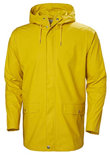 Helly Hansen Herren Herren Regenjacke Moss Regenjacke, Essential Yellow, XL, 53265