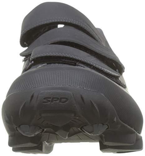 Shimano SH M MTB Me300, Zapatillas de Ciclismo de Carretera Hombre, Negro (White/Black), 41 EU