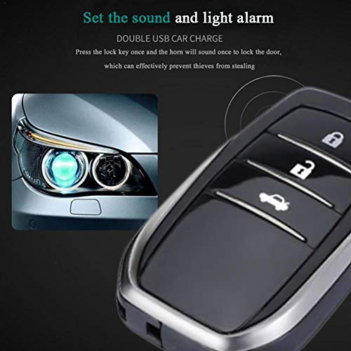 Alarm System Push Button Remote Starter Stop Auto Car Accessories Tool 12V Car SUV Keyless Entry Engine Start SUV Keyless