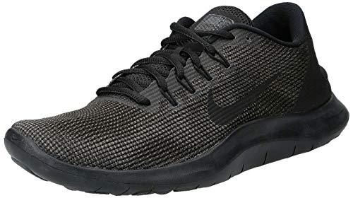Nike Men's Flex 2018 Rn Running Shoes, Black (Black/Dark Grey/Anthracite/Black 002), 7 UK 41 EU