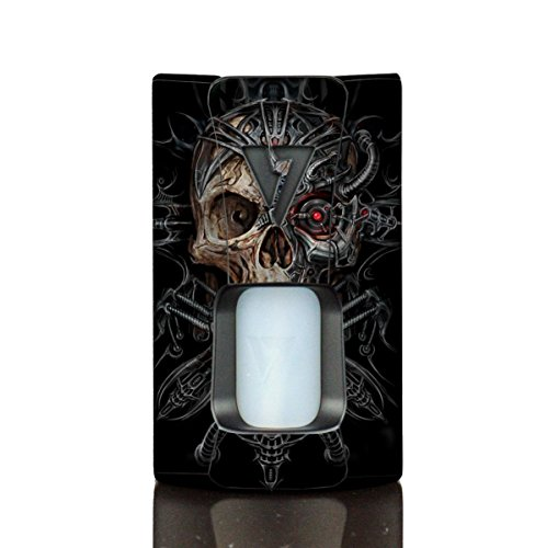 Wrap Desire Design Tech OHM Boy Rage Squonk Skin Skins Borg Skull Vinyl Decal Sticker