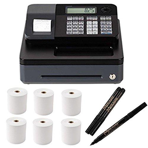 Casio Electronic Cash Register PCRT273 + Counterfeit Bill Detector Pen+ Thermal