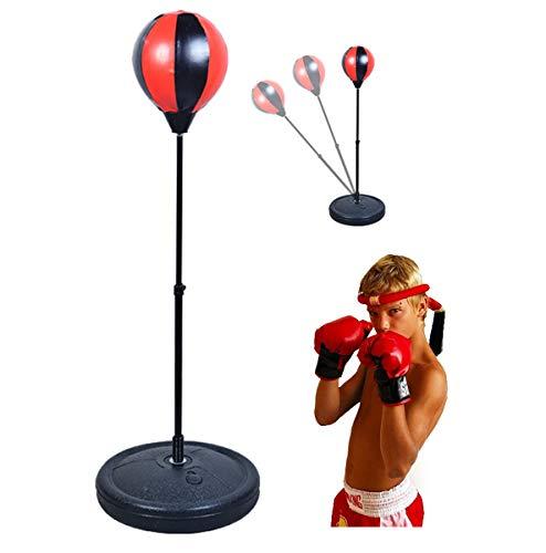 CX Best Kinder Boxing Ball Set 27in-40in einstellbar mit Handschuhen /& St/änder Kids Boxing Training Ball Stehen Tumbler Geschwindigkeit /& Beweglichkeit Training Boy Sandsack Sport Spielzeug