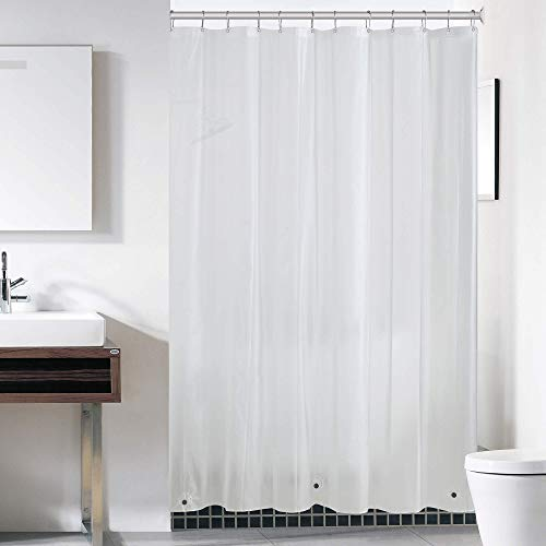 downluxe Frosted Shower Curtain Liner 72x72 - PEVA...