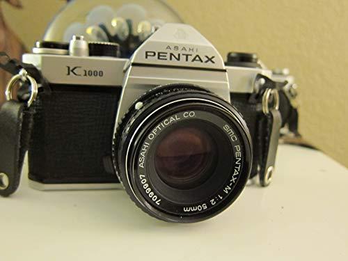 Pentax K1000 Manual Focus SLR Film Camera with Pentax 50mm Lens