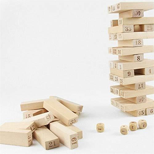 Madera Digital Jenga Building Block Brain Game Entertainment Intelligence Interaction Toys