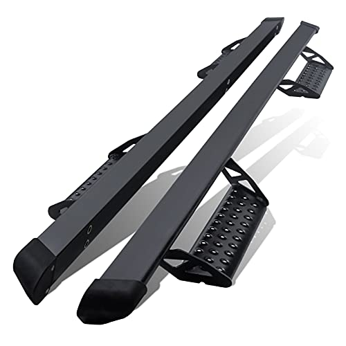 OE Factory Style Running Boards Side Steps Nerf Bars for 2005-2020 Toyota Tacoma Double Cab/Crew Cab with 4 Full Size Door (2pcs),3 Inches,Drop Step,Heavy Duty Carbon Steel.