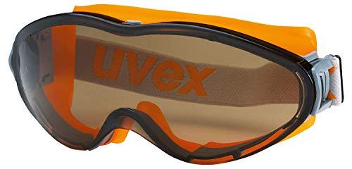 Uvex Ultrasonic Supravision Excellence Schutzbrille - Getönt/Grau-Orange
