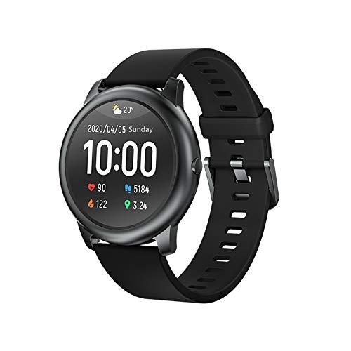 HAYLOU Ls05 Smartwatch,Reloj Inteligente con Pulsómetro,Calorías,Cronómetros,Monitor de Sueño,Podómetro Pulsera Actividad Inteligente Impermeable IP68