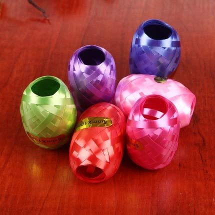 ADSIKOOJF 6 stks/partij Folie ballon lint Party Bruiloft Decoratie groothandel partij Geschenken speelgoed Ballon touw willekeurige kleur 5mm * 10m