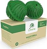 2 x Original Livona® Waschball [TÜV-GEPRÜFT] - Öko...