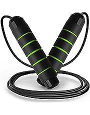 flintronic Springtouw, Speed Rope voor fitness springtouwen, verstelbaar boxen, springtouw, ideaal voor boksen, MMA, crossfit, HIIT, fitnesstraining/vet branden oefening