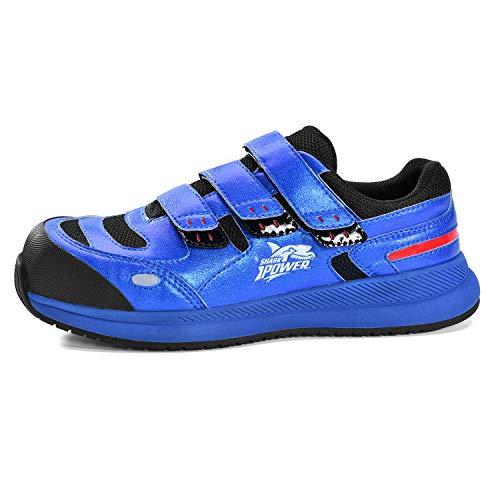 Safetoe Zapatos de Seguridad Hombres y Mujeres, L-7391 Botas de Seguridad Trabajo de Cuero Transpirable, Puntera de Material Compuesto Sin Metal Ligeros Calzado, Zapatillas para Plantilla mas Comodas