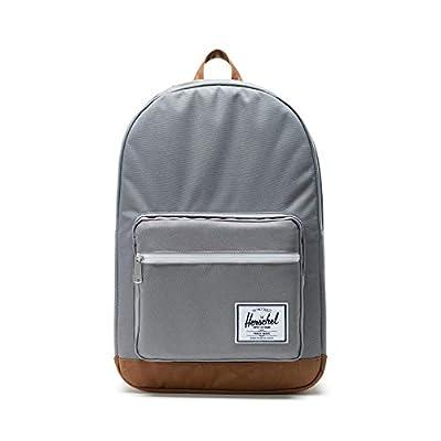 Herschel Pop Quiz Backpack, Grey/Tan, Classic 22L