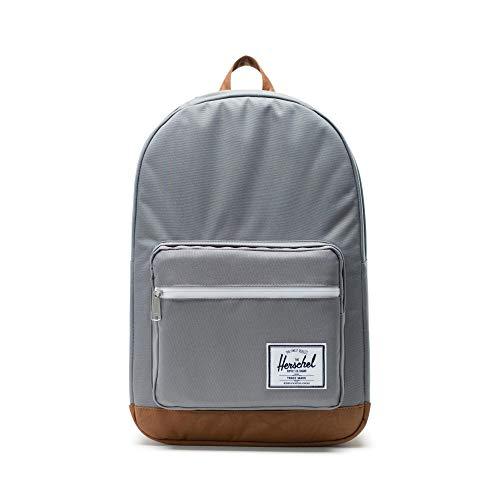Herschel 10011-00006 Pop Quiz Backpack Rucksack, 1 Liter, Grau/Tan