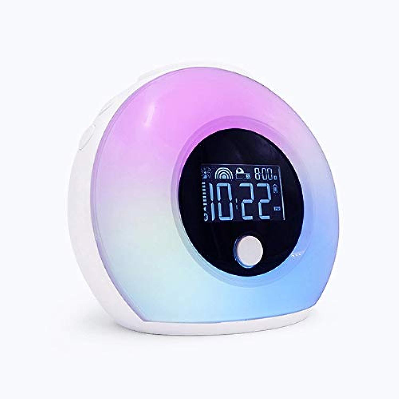 TXOTO Aufwachen Licht Wecker 5.0 Blautooth-Lautsprecher kreatives Geschenk Smart LED Digitaluhr Aufladen Nachttischlampe wiederaufladbare Dimmen emotionalen Sensor Licht