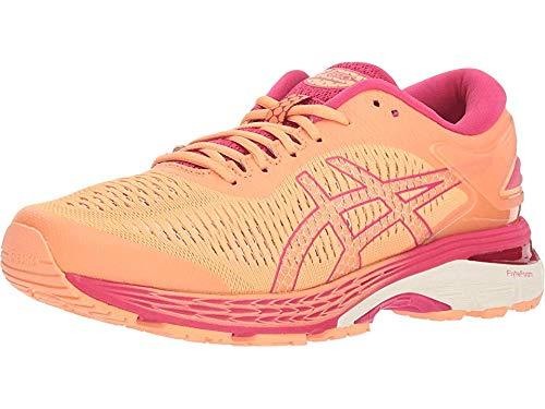 ASICS Women's Gel-Kayano 25 Running Shoes, 7M, Mojave/White