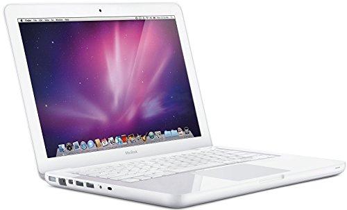 APPLE Macbook A1342 - 13.3 in Screen - Intel C2D 2.33Ghz - 2GB DDR2 SO-DIMM - 250GB 2.5in SATA - MAC OSX 10.11 El Capitan - Webcam - Wireless (Renewed)