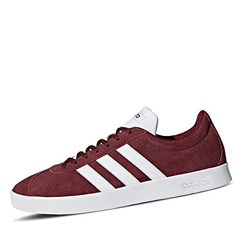 adidas Men's Skateboarding Shoes, Multicolour (Collegiate Burgundy/FTWR White/Core Black Collegiate Burgundy/FTWR White/Core Black), US:7