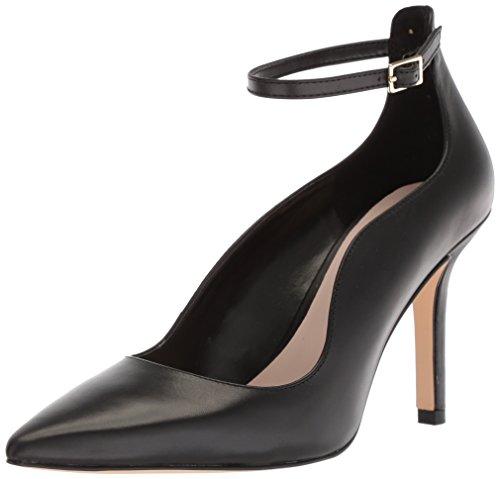 NINE WEST Zapatos de tacón de Piel Marquisa para Mujer, Negro (Cuero Negro), 40 EU
