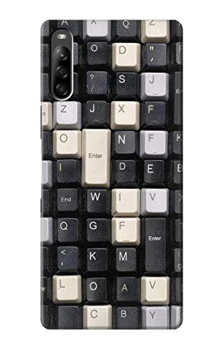 Innovedesire Vintage Keyboard Hülle Schutzhülle Taschen für Sony Xperia L5