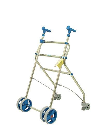 Forta Herstellungen Rollator aus Aluminium für Senioren rollatino–Blau