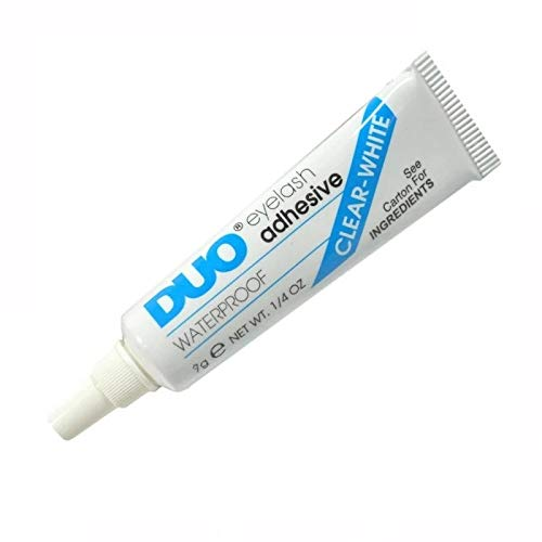 Adhesivo Pestañas Postizas & cejas artificiales, DUO Strip lash adhesive, pegamento de látex para pestañas postizas y la piel, prueba de agua, vegano