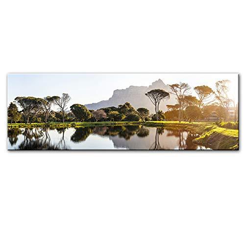 Beautiful Sunset Landscape Canvas Paintings Carteles e impre