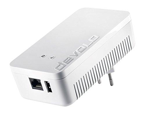 devolo Home Control Zentrale (Smart Home Steuereinheit, Z-Wave Hausautomation, intelligente Haussteuerung per iOS/Android App, Smarthome zum Selbermachen) weiß