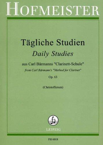 TAEGLICHE STUDIEN OP 63