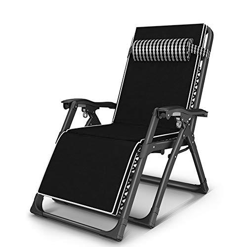 Fauteuils inclinables Feifei Chaise de Jardin Pliante inclinable Chaise Longue de Jardin Chaise Longue Zéro Gravity Portable Chaise de Plage Pliant (Couleur : B)